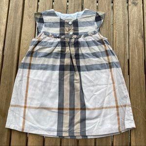 Dress Burberry 12 / 18 months sleeveless
